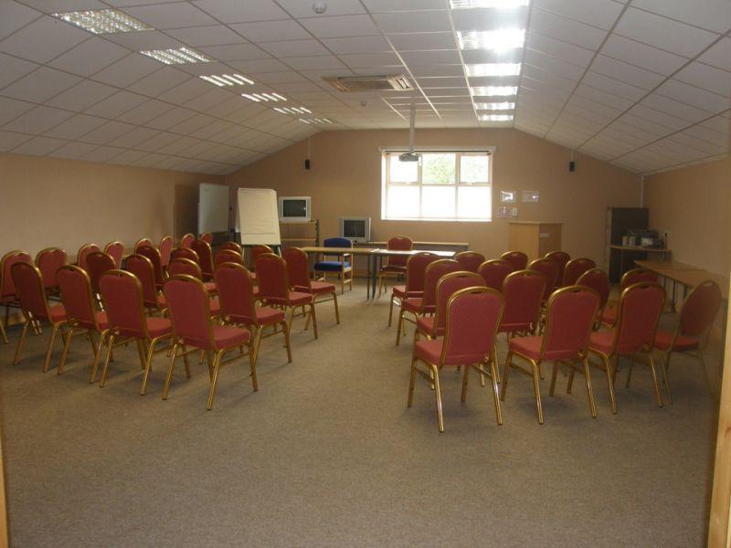 Numerous rooms for all types of training